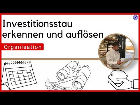 Investitionsstau erkennen und auflösen