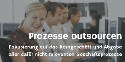 Prozesse outsourcen