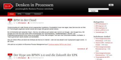 Blog über Prozessmanagement