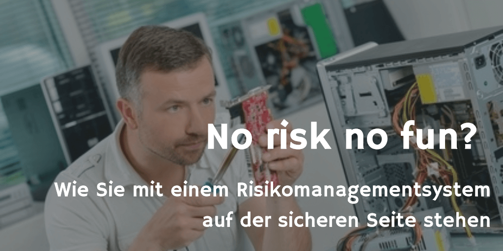 No risk no fun - Risikomanagementsystem
