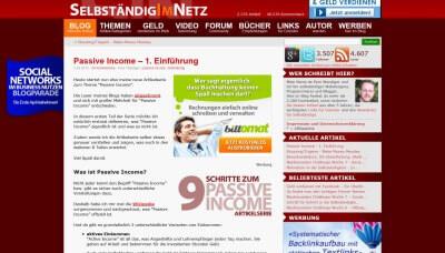 Blog Selbständig im Netz