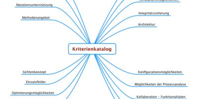 Kriterienkatalog für das Prozessmanagementtool