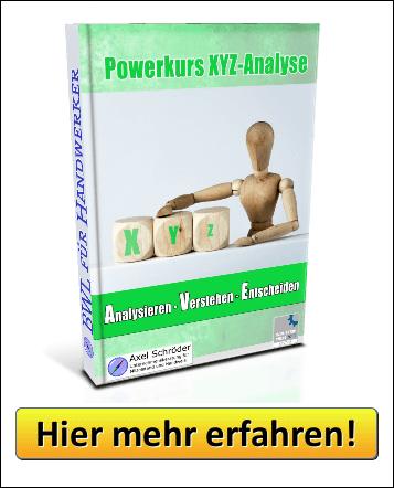 Powerkurs XYZ-Analyse - Jetzt informieren!