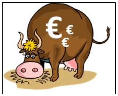 Geld-Kühe/Cash-Cow