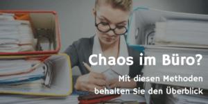 Chaos im Büro