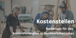 Kostenstellenplan in Handwerksbetrieben