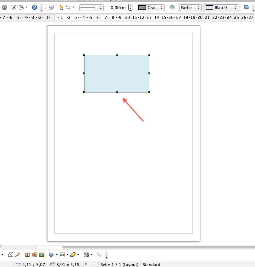 Abbildung 4, Element zeichnen