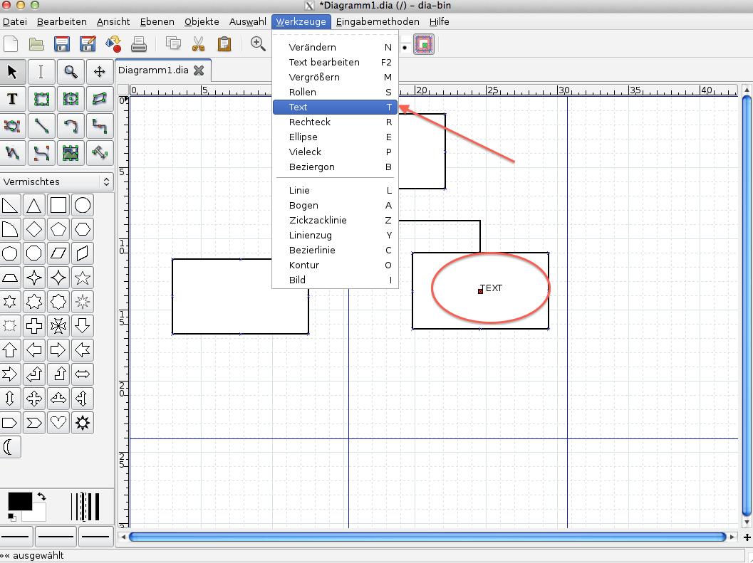 Abbildung 10, Dia Text einfügen