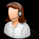 Beschwerdemanagement Abbildung 4, weiblicher Call-Center-Agent
