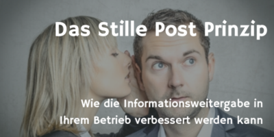 Stille Post Prinzip