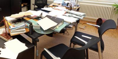 Chaos am Arbeitsplatz - mit 5S mehr Ordnung