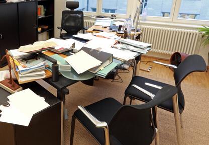 Chaos am Arbeitsplatz – Suchzeiten und Neuanfertigungen