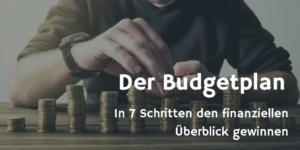 Budgetplan - Finanzieller Überblick in 7 Schritten