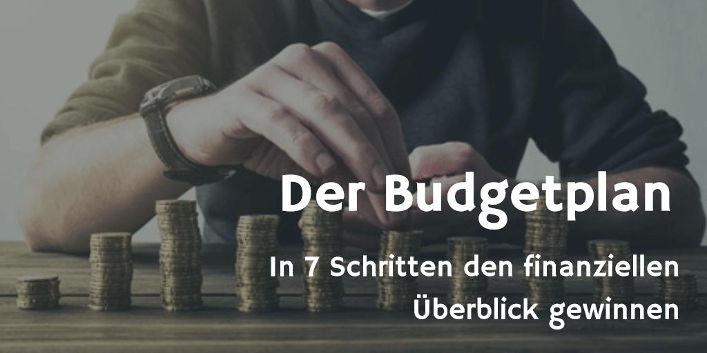Der Budgetplan Anleitung Tipps Video Tutorial Excel Vorlage