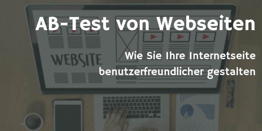 AB-Tests von Webseiten