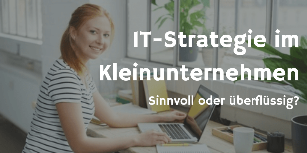 IT-Strategie im Kleinunternehmen