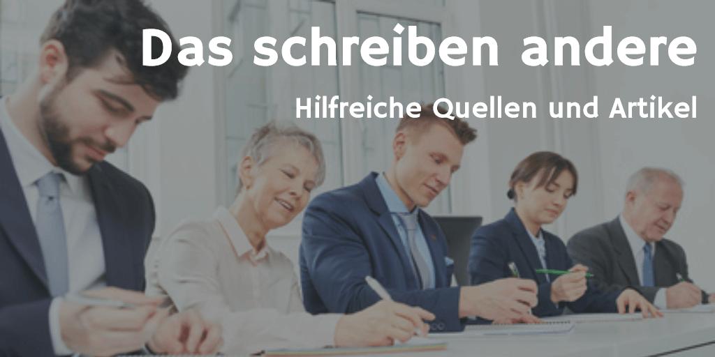 Das Schreiben Andere Axel Schröder Unternehmensberatung Bayreuth