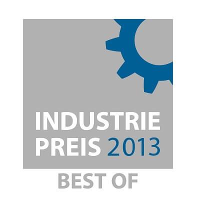 Wir haben den Industriepreis 2013 gewonnen!