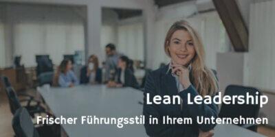 Lean Leadership Fotolia © bnenin
