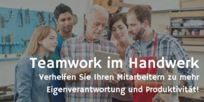 Teamwork im Handwerk Fotolia © Robert Kneschke