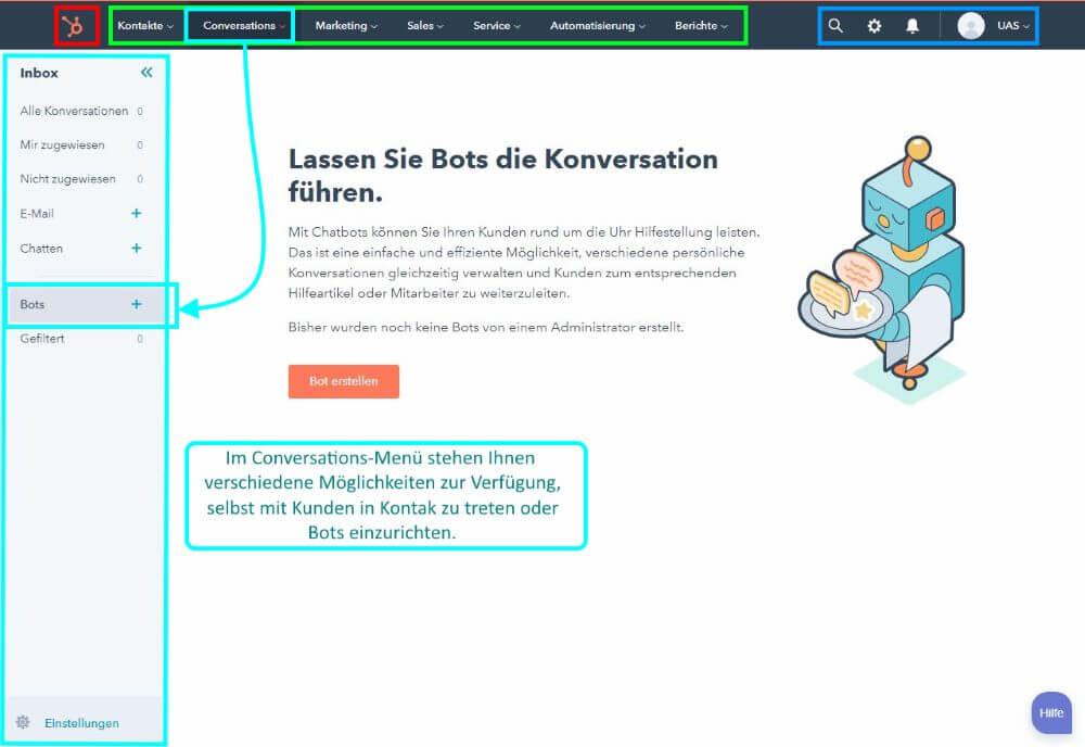 3 HubSpot CRM Conversations