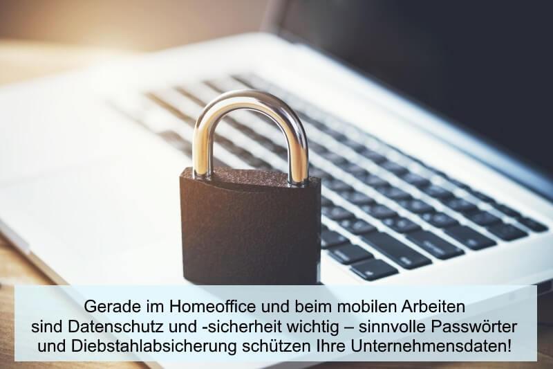 Datenschutz beim mobilen Arbeiten
