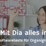 Dia im großen Freeware-Test zur Erstellung von Organigrammen