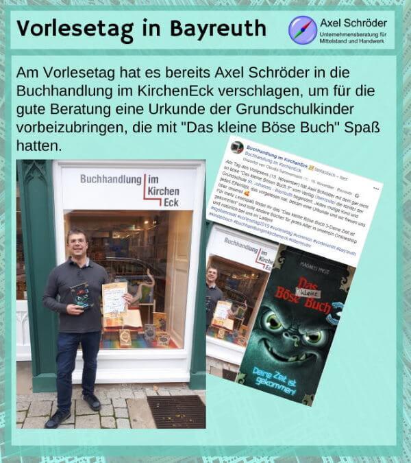 Axel Schröder in der Buchhandlung im KirchenEck