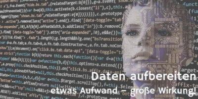 Datenaufbereitung © geralt