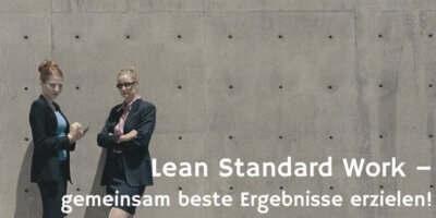 Lean Standard Work © Polka Dot Images
