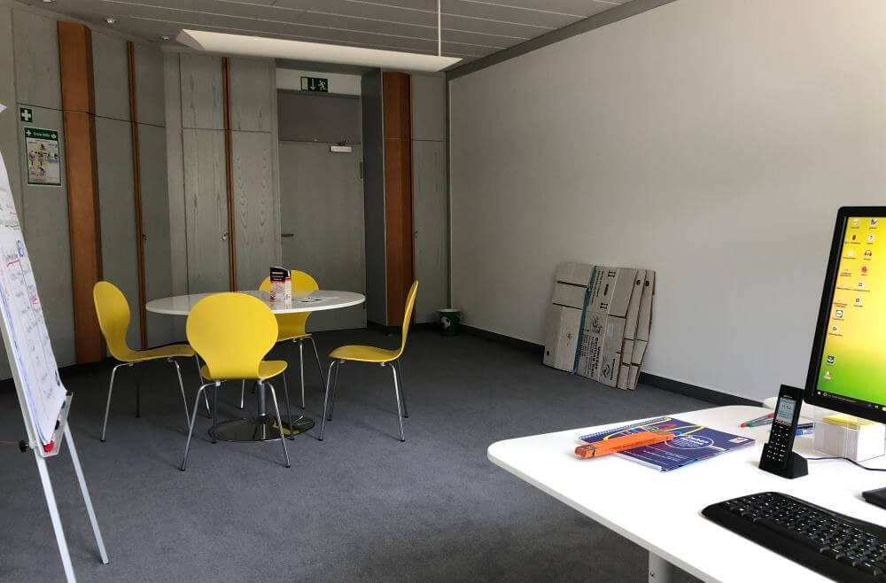 Umzug der UAS in größere Büroräume