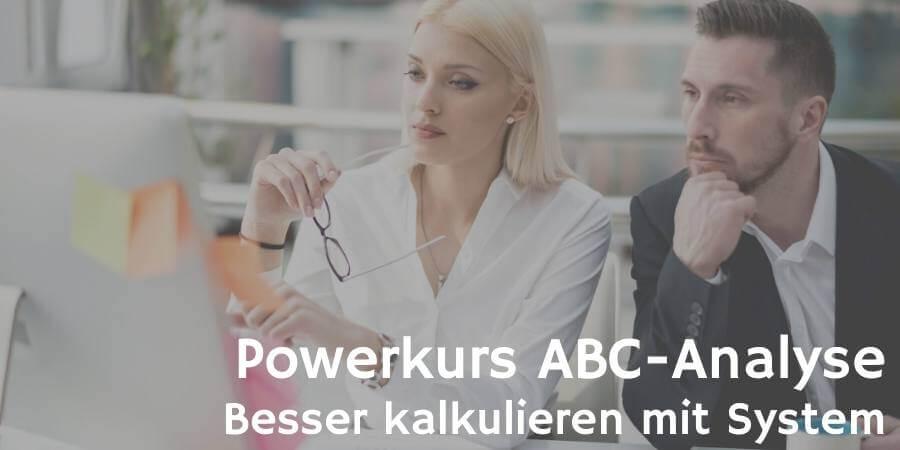 Powerkurs ABC-Analyse © EXTREME-PHOTOGRAPHER