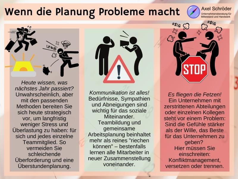 Probleme für Personalplaner