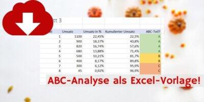 ABC-Analyse Downloadvorschau