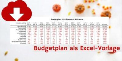 Budgetplan Downloadvorschau