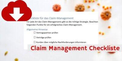 Claim Management Downloadvorschau