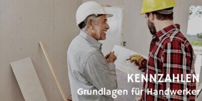 Kennzahlen Grundlagen für Handwerker © Robert Kneschke