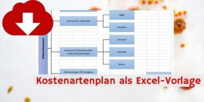 Kostenartenplan Downloadvorschau