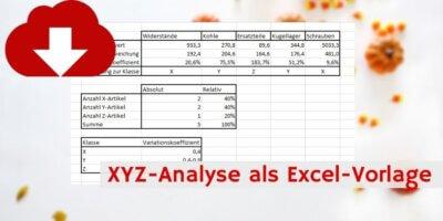 XYZ-Analyse Downloadvorschau