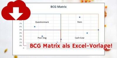 BCG Matrix Excel-Vorlage Vorschau