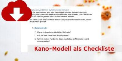 Kano-Modell Downloadvorschau
