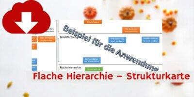 Flache Hierarchie Strukturkarte Downloadvorschau